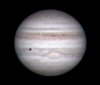 Io transit on Jupiter 01/02/06